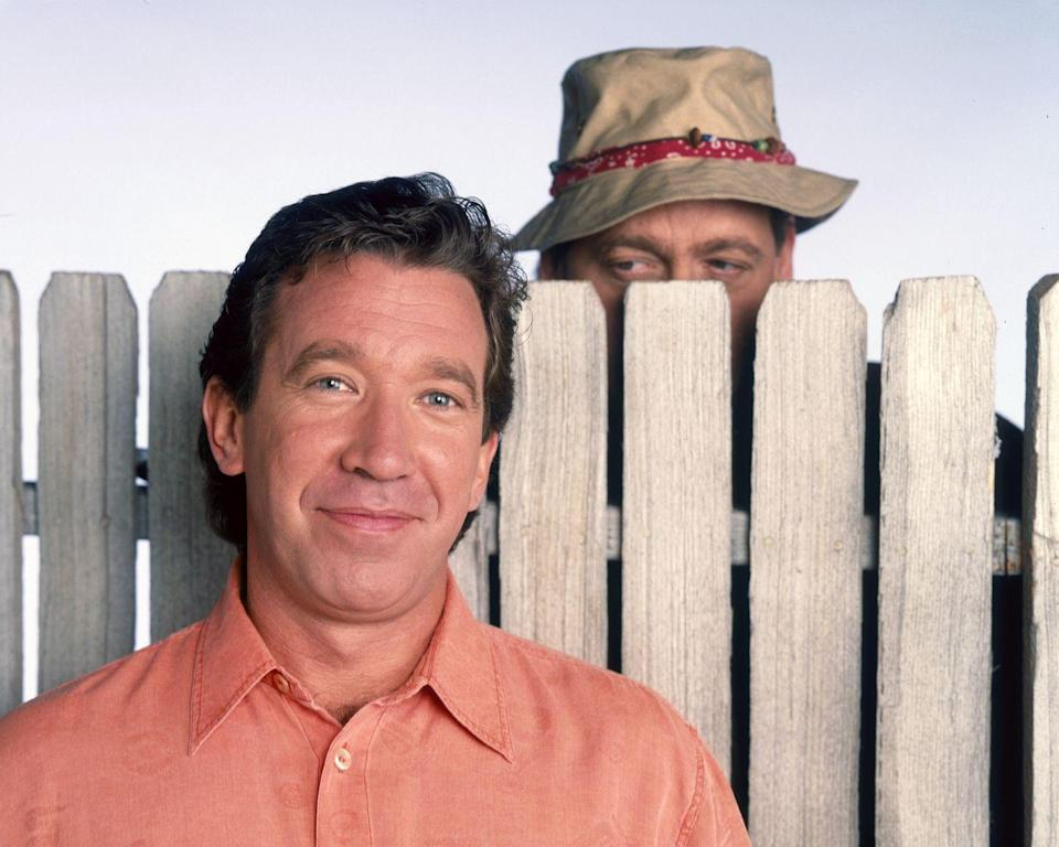<p><strong><em>Home Improvement</em><br><br></strong>Before he was the <em>Last Man Standing</em>, or Buzz Lightyear, Tim Allen was best known as Tim the Tool Man Taylor on this long running sitcom set in the Detroit suburbs. </p>
