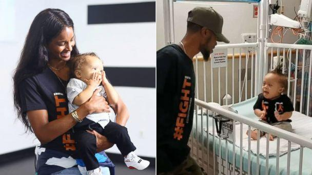 PHOTO: Ciara awared Kenny Thomas and his son Kristian the winners of her 'Level Up' challenge after a video of the pair went viral on Instagram. (kennyclutch/Instagram)