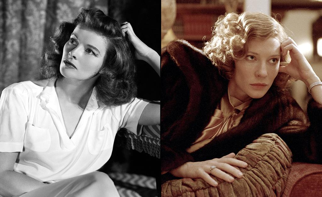"<a href=""http://movies.yahoo.com/movie/contributor/1800012809"">KATHARINE HEPBURN</a> -- Hollywood Icon  Played by: <a href=""http://movies.yahoo.com/movie/contributor/1800018917"">Cate Blanchett</a> in <a href=""http://movies.yahoo.com/movie/1808411951/info"">The Aviator</a> (2004)    Cate Blanchett had hundred of freckles painted onto her arms, chest and face to resemble the famously freckled movie legend. Blanchett is the only person to win an Oscar for playing someone who also won an Oscar."