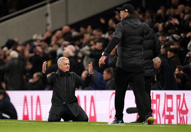 Jose Mourinho is doing more with less than he ever has this season at Tottenham. (Photo by John Walton/PA Images via Getty Images)
