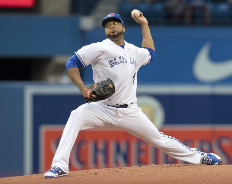 Astros acquire Francisco Liriano from the Blue Jays