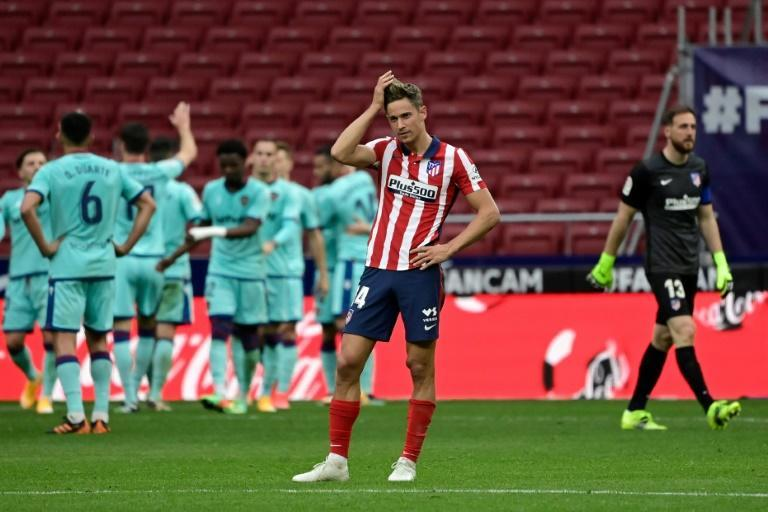 Atletico Madrid's 2-0 loss to Levante was their first home defeat in La Liga since December 2019