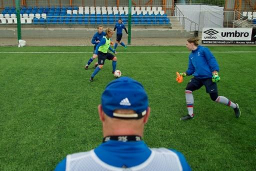 Female footballers at the Chertanovo club are still seeking acceptance in Russia's male-dominated sports world