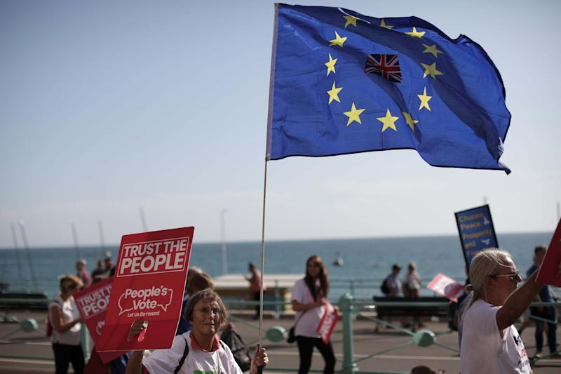 The People's march takes place ahead of the 2019 Labour Party Conference. (Getty Images)