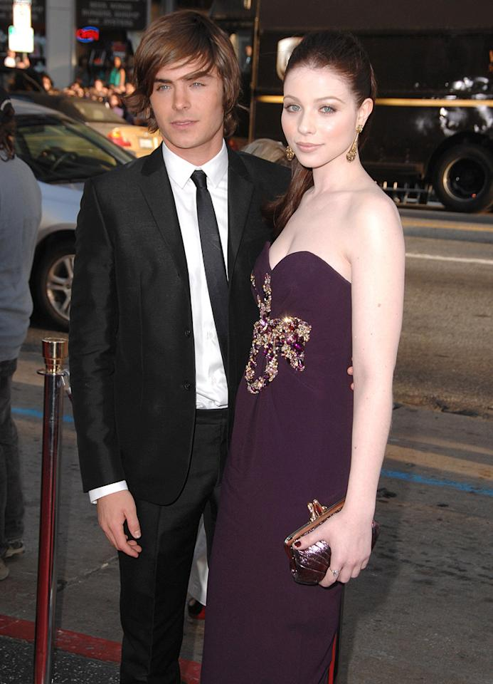 "<a href=""http://movies.yahoo.com/movie/contributor/1808543881"">Zac Efron</a> and <a href=""http://movies.yahoo.com/movie/contributor/1800019074"">Michelle Trachtenberg</a> at the Los Angeles premiere of <a href=""http://movies.yahoo.com/movie/1810038675/info"">17 Again</a> - 04/14/2009"