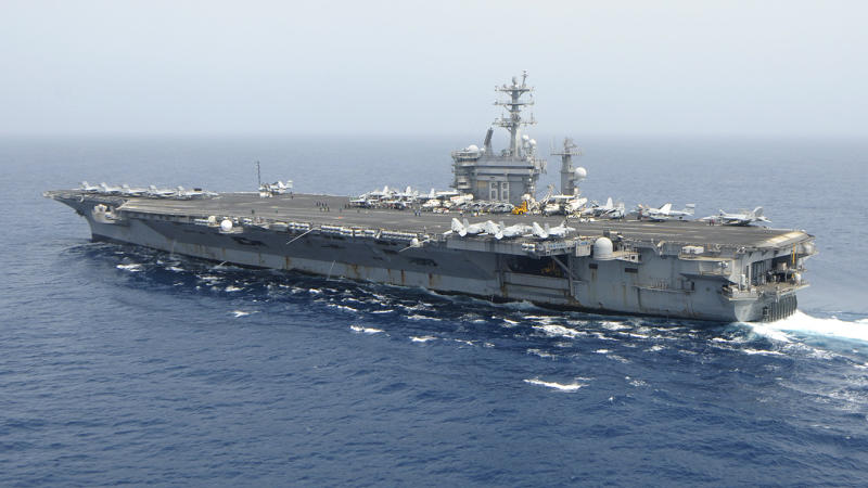 Aircraft carrier USS Nimitz