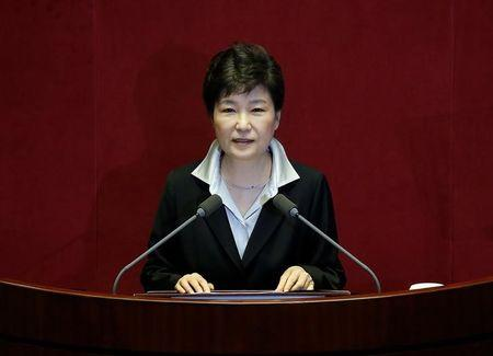 South Koreans call for president to stand down