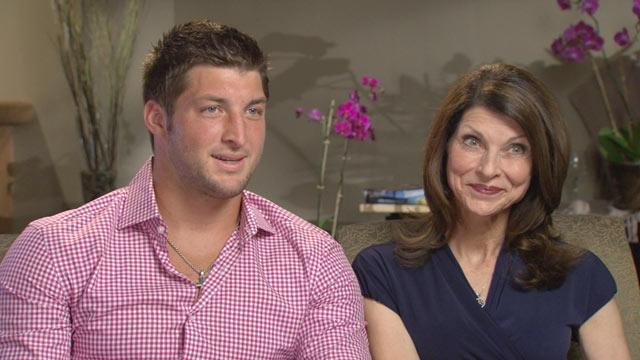 Tim Tebow Shares Mother's Day Memories