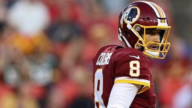 """Largely considered a top-10 fantasy QB, <a class=""""link rapid-noclick-resp"""" href=""""/nfl/players/25812/"""" data-ylk=""""slk:Kirk Cousins"""">Kirk Cousins</a> may struggle to produce early in 2017."""