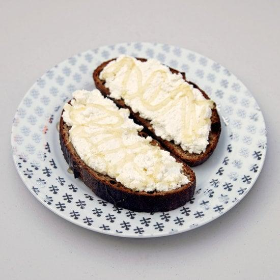 """<p>This simple yet satisfying toast will ensure that you never skip the most important meal of the day.</p> <p><strong>Protein:</strong> 19 grams</p> <p><strong>Get the recipe:</strong> <a href=""""https://www.popsugar.com/food/Ricotta-Honey-Toast-Recipe-32267839"""" class=""""ga-track"""" data-ga-category=""""Related"""" data-ga-label=""""http://www.popsugar.com/food/Ricotta-Honey-Toast-Recipe-32267839"""" data-ga-action=""""In-Line Links"""">honey ricotta toast</a></p>"""