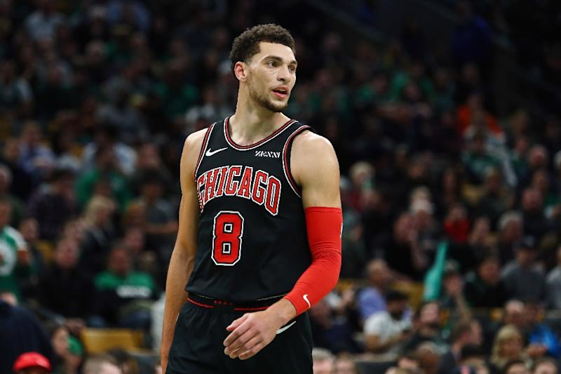 cda082ef7a2 Zach LaVine scored a career-high 47 points as the Chicago Bulls outlasted  the Atlanta