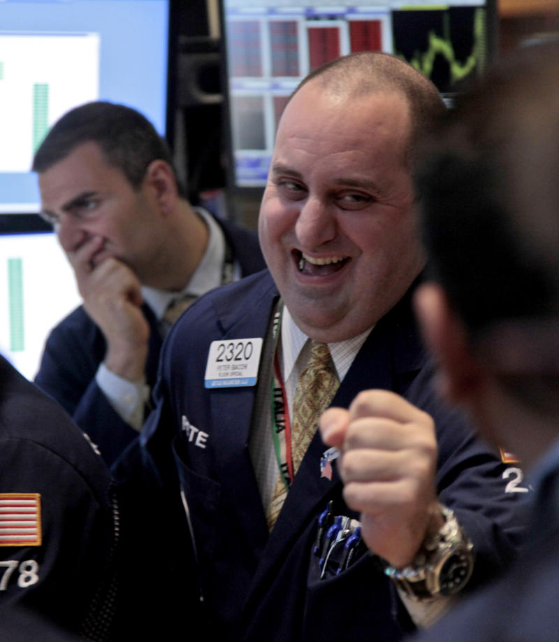 Dow leaps 286 points, its biggest day of the year