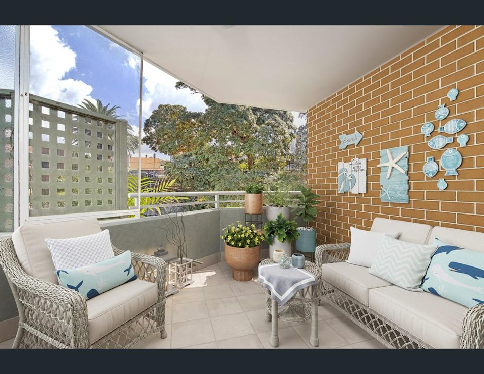 Image of the balcony at 12/7-9 Pittwater Road, Manly, NSW 2095.