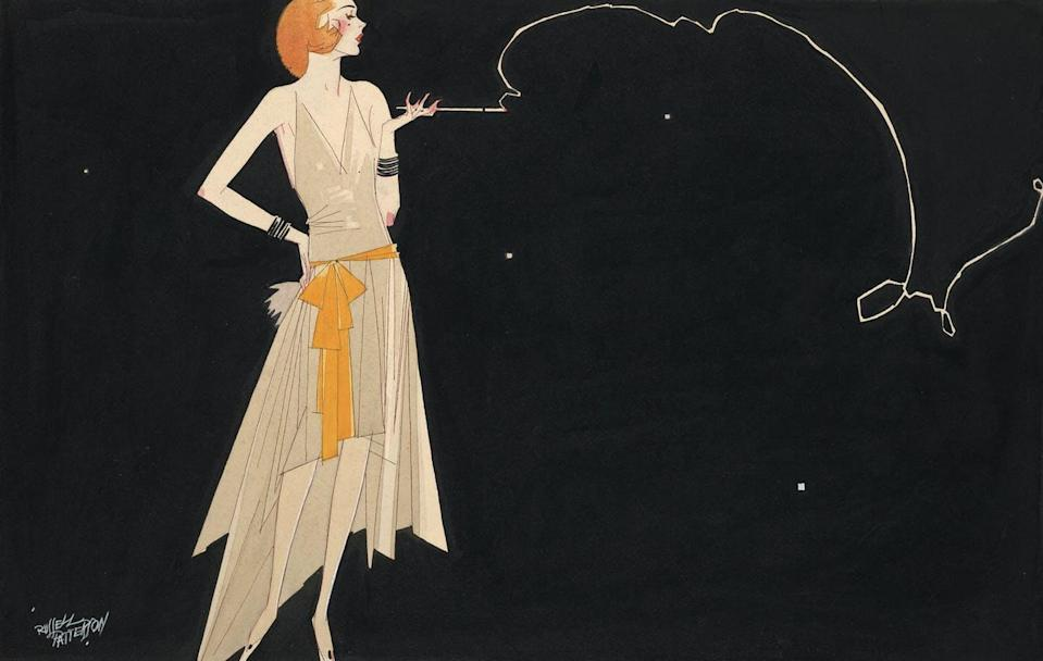 "<span class=""caption"">In the wake of COVID-19, the 2020s may be a time when we reconsider how we work, run governments and have fun, just as the 1920s were. This illustration of a flapper girl, created by artist Russell Patterson in the 1920s, captures the style of that era. </span> <span class=""attribution""><span class=""source"">(Library of Congress)</span></span>"