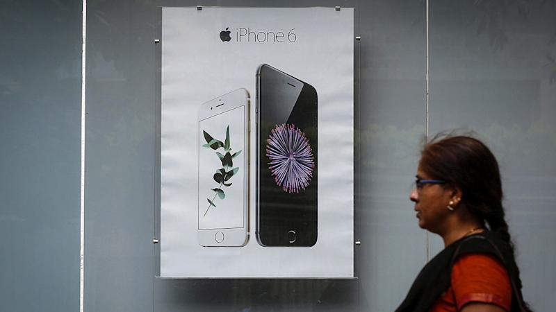 The high price of Apple's iPhones are turning away potential customers in India. Image: Reuters.