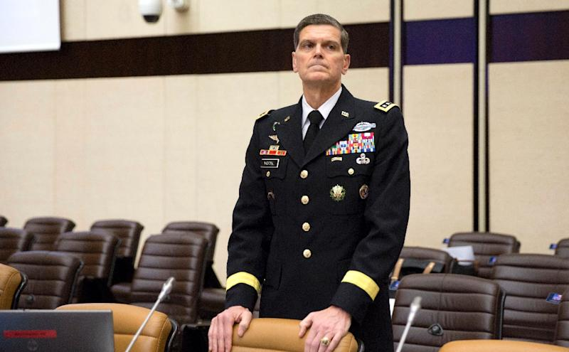 """Commander of the US Central Command Joseph Votel spoke to the head of Pakistan's army """"over the week"""""""
