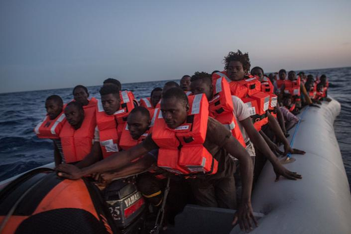 About 90,000 migrants and refugees have traversed the central Mediterranean Sea route to Italy so far in 2017, according to the International Organization for Migration. (Photo: Chris McGrath via Getty Images)