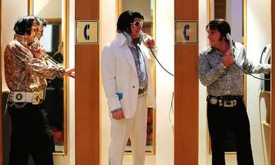 Elvis Impersonators Battle To Be King Of Europe