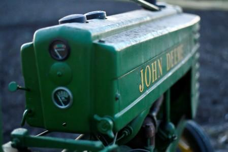 FILE PHOTO: FILE PHOTO: A 1941 Model H John Deere tractor is photographed at a farm in Hutto, Texas