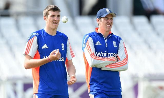 Jamie Overton, right, has been selected with brother Craig for England in the past but has yet to play for his country