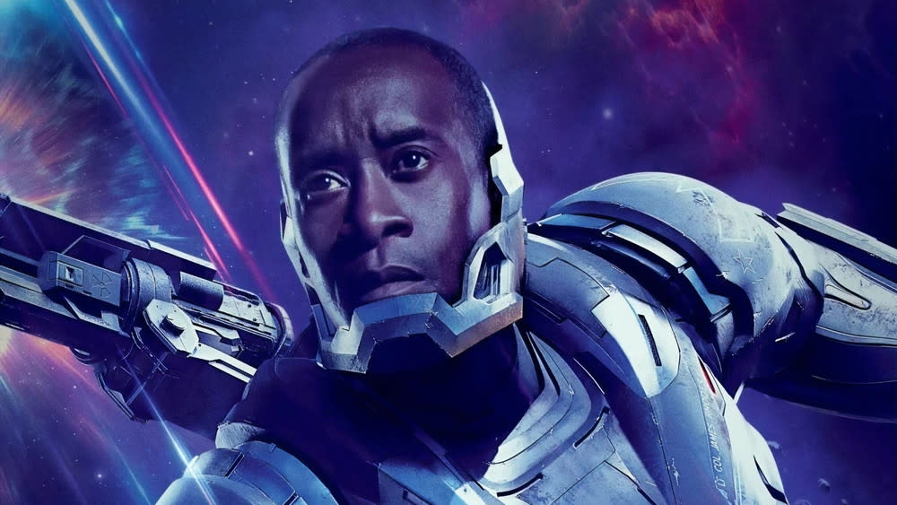 Don Cheadle will reprise his MCU role as War Machine in the series 'Armor Wars'. (Marvel/Disney)