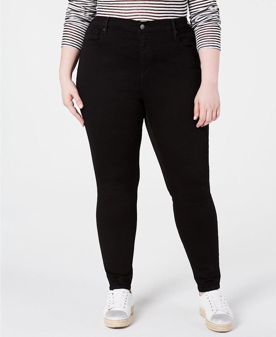 """<br><br><strong>Levi's</strong> Trendy Plus Size 721 High-Rise Skinny Jeans, $, available at <a href=""""https://go.skimresources.com/?id=30283X879131&url=https%3A%2F%2Fwww.macys.com%2Fshop%2Fproduct%2Flevis-trendy-plus-size-721-high-rise-skinny-jeans%3FID%3D8763706"""" rel=""""nofollow noopener"""" target=""""_blank"""" data-ylk=""""slk:Macy's"""" class=""""link rapid-noclick-resp"""">Macy's</a>"""
