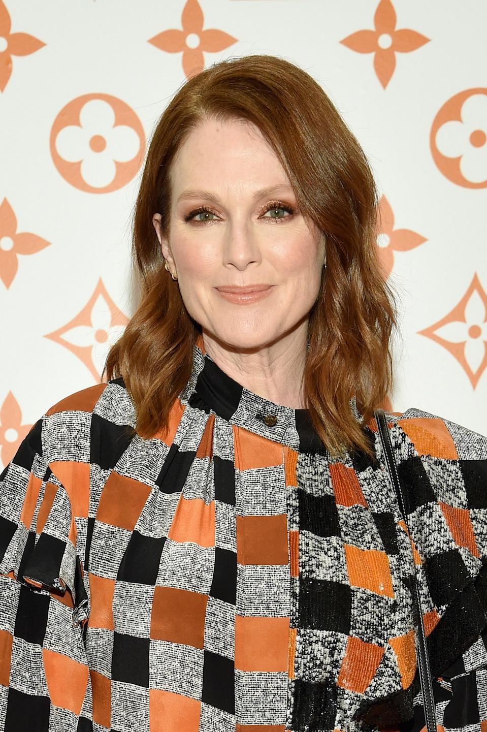 """Julianne Moore changed her name from Julie Anne Smith out of practicality. """"There was already a Julie Smith, a Julie Anne Smith, there was everything,"""" she has <a href=""""https://www.nytimes.com/2001/02/11/movies/film-hello-again-clarice-but-you-ve-changed.html"""" rel=""""nofollow noopener"""" target=""""_blank"""" data-ylk=""""slk:said"""" class=""""link rapid-noclick-resp"""">said</a>. """"My father's middle name is Moore; my mother's name is Anne. So I just slammed the Anne onto the Julie. That way I could use both of their names and not hurt anyone's feelings. But it's horrible to change your name. I'd been Julie Smith my whole life, and I didn't want to change it."""""""
