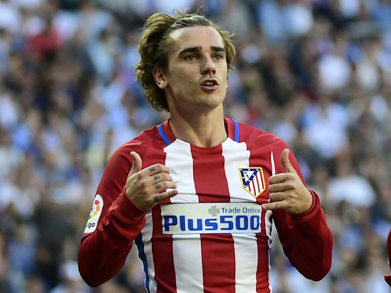 Griezmann scored the equaliser in the Madrid derby on Saturday: Getty