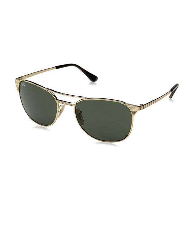 "<p>Ray-Ban Men's Metal Man Signet Sunglasses, Gold, 55 mm, $173 + up to 50% off, <a href=""https://www.amazon.com/Ray-Ban-Mens-Metal-Square-Sunglasses/dp/B01KX6ZWV2/ref=sr_1_2?s=apparel&ie=UTF8&qid=1531257714&sr=1-2&nodeID=7141123011&psd=1&keywords=ray+ban+Metal+Man+Square+Sunglasses%2C+Gold%2C+55+mm&dpID=31u17BnVAmL&preST=_SX342_QL70_&dpSrc=srch"" rel=""nofollow noopener"" target=""_blank"" data-ylk=""slk:amazon.com"" class=""link rapid-noclick-resp"">amazon.com</a> </p>"
