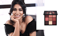 """<p>When vloggers and Instagram influencers say, """"GOALS,"""" we can't help but imagine a powerhouse like Huda Kattan. The self-made entrepreneur trained as a makeup artist before launching her company with false eyelashes in 2013. Fast-forward five years later, and Huda Beauty has foundations (for diverse skin tones), highlighters, lip sets, and more that are sold at Sephora, JC Penney, and Selfridges, just to name a few retailers. <br><br>Mauve Obsessions Mini Eyeshadow Palette, $27, <a href=""""http://shophudabeauty.com/product/obsessions-palette-mauve/?v=7516fd43adaa"""" rel=""""nofollow noopener"""" target=""""_blank"""" data-ylk=""""slk:shophudabeauty.com"""" class=""""link rapid-noclick-resp"""">shophudabeauty.com</a>. (Art by Quinn Lemmers for Yahoo Lifestyle) </p>"""