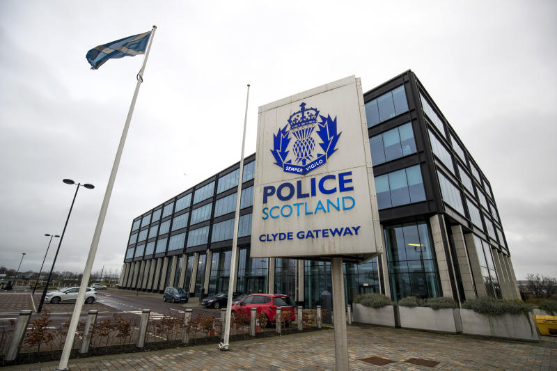 Police Scotland Clyde Gateway headquarters at Dalmarnock, Glasgow. PA Photo. Picture date: Sunday January 5, 2020. Photo credit should read: Jane Barlow/PA Wire