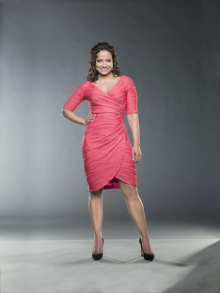 "Judy Reyes in the Lifetime series ""Devious Maids."""
