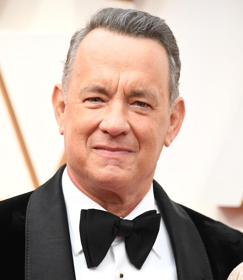 Tom Hanks arrives at the 92nd Annual Academy Awards at Hollywood and Highland on February 09, 2020 in Hollywood, California.