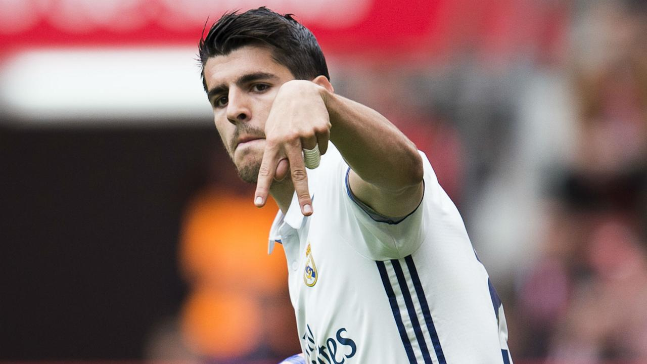 A possible move for the Spain striker from Real Madrid to Manchester United is seemingly no closer to being finalised