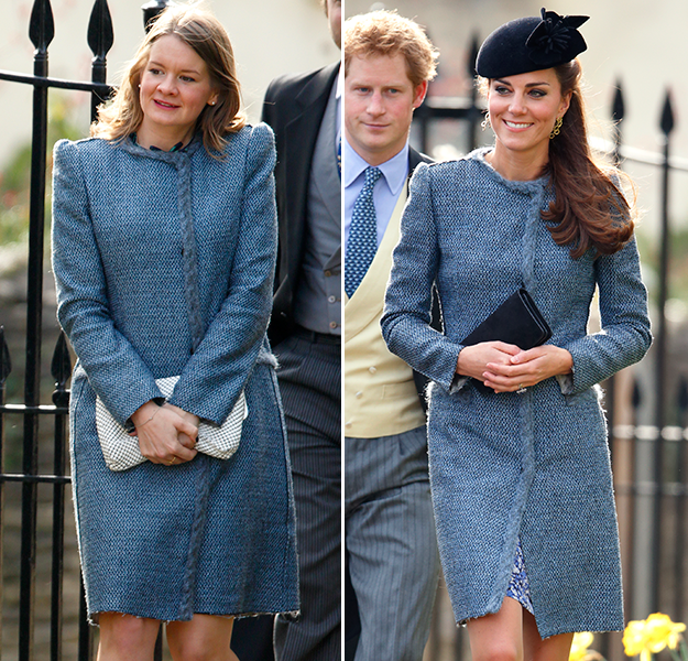 Kate Middleton wears the same coat as another guest at wedding