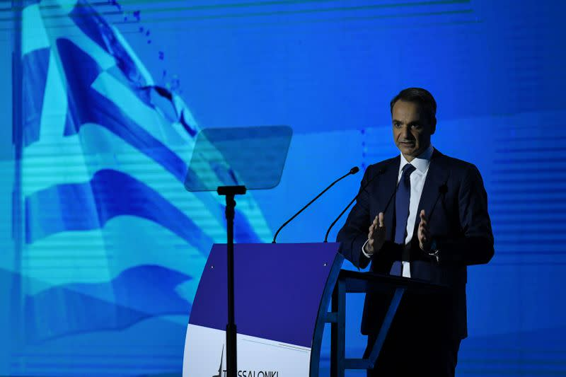 Greek PM announces tax relief to boost employment, ups defence spending