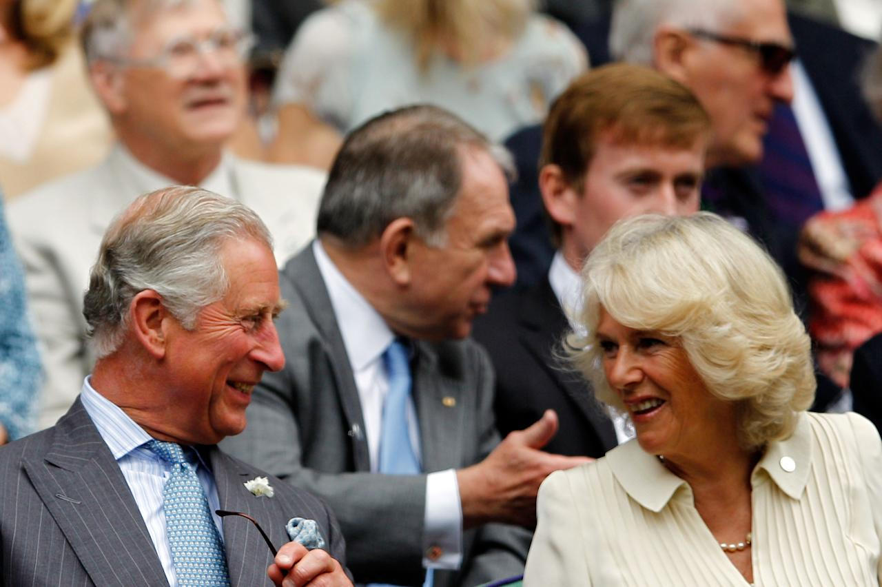 "<p class=""MsoNormal""><span>Kate and Will weren't the only royals at Wimbledon: Prince Charles, Prince of Wales and Camilla, Duchess of Cornwall watched as Roger Federer of Switzerland played Fabio Fognini of Italy. </span></p>    <p class=""MsoNormal""><span>(Photo by Paul Gilham/Getty Images)</span></p>"