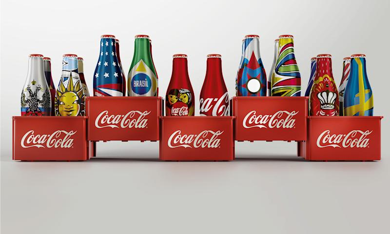 Coca-Cola, World Cup 2014, commemorative bottles.