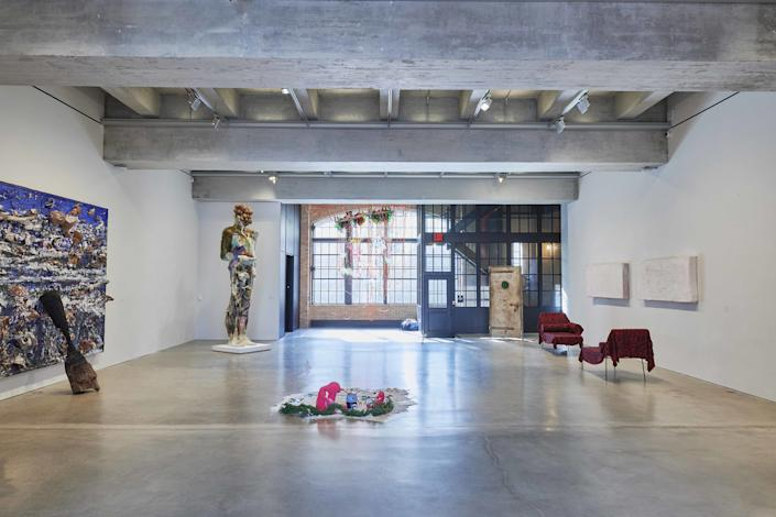 An installation view of Third Dimension.