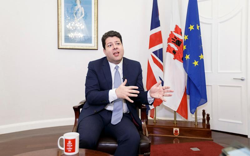 Chief Minister of Gibraltar, Fabian Picardo  - Credit: AP