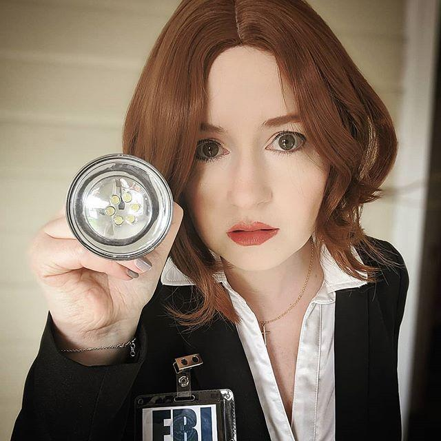 "<p>Hunt for extraterrestrials this Halloween by pinning a homemade FBI-badge to your favorite pantsuit. If you really want to complete the look, have your significant other dress up as Mulder.</p><p><strong>RELATED:</strong> <a href=""https://www.goodhousekeeping.com/holidays/halloween-ideas/g2625/halloween-costumes-for-couples/"" rel=""nofollow noopener"" target=""_blank"" data-ylk=""slk:75 Best Couple Halloween Costumes to Prove That You're the Most Creative Duo"" class=""link rapid-noclick-resp"">75 Best Couple Halloween Costumes to Prove That You're the Most Creative Duo</a></p><p><a href=""https://www.instagram.com/p/B_j-9MAD7kg/&hidecaption=true"" rel=""nofollow noopener"" target=""_blank"" data-ylk=""slk:See the original post on Instagram"" class=""link rapid-noclick-resp"">See the original post on Instagram</a></p>"