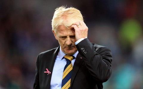 <span>Gordan Strachan left his position as Scotland manager by 'mutual consent' after they failed to qualify for the 2018 World Cup </span> <span>Credit: PA  </span>
