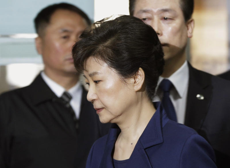 Ousted South Korean President Park Geun-hye Is Formally Indicted