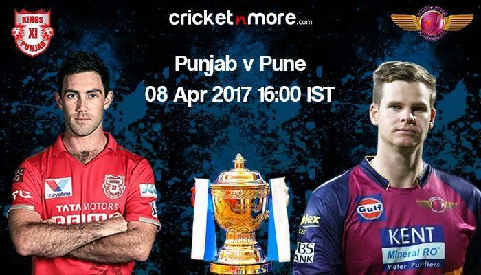 IPL 10: Pune, Punjab aim to outwit each other