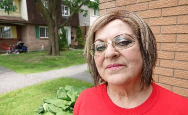 Mavis Finnamore lived in Heron Gate for 30 years before her rented townhouse was demolished to make room for a trio of six-storey buildings. She continues to advocate for her old community through ACORN.