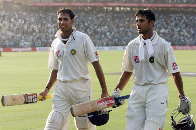 In the second match of the three-Test series against Australia at Kolkata in 2001, Dravid and VVS Laxman scripted one of the greatest comeback victories in the history of the game. Dravid (180) and Laxman (281) added 376 runs for the fifth wicket in India's second innings, with the hosts following on.