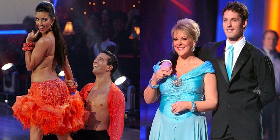 <p>Season 28 of <em>Dancing With The Stars </em>is coming to a close, and by now viewers have been reminded of just how wildly uncomfortable some moments are on this show. From stiff dance moves to partner drama to backstage feuds, we've broken down the best of the worst moments to ever happen in the ballroom.</p>