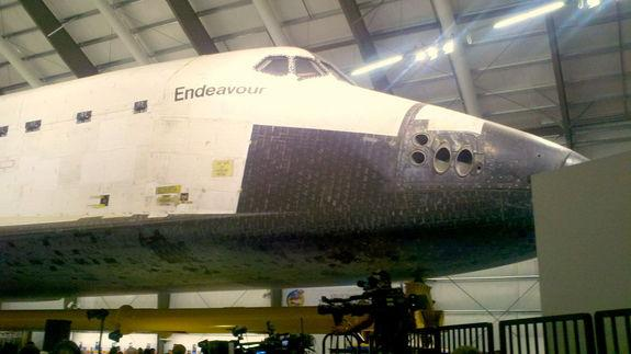 Space Shuttle Endeavour Exhibit Opens at California Science Center