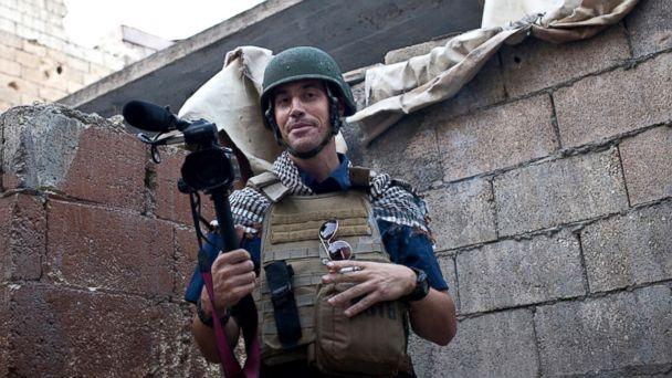PHOTO: A November 2012 file photo shows journalist James Foley while covering the civil war in Aleppo, Syria. The Islamic State group released a video on Aug. 19, 2014, showing a jihadi beheading Foley, a 40-year-old journalist from Rochester, N.H. (AP, FILE)