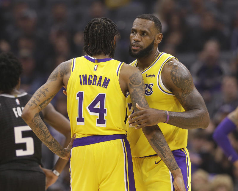 Pacers Fans Chant 'LeBron's Gonna Trade You' At Lakers Star Brandon Ingram